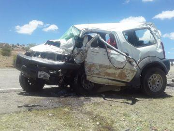 Choque causa la muerte de tres mujeres cerca de Villazón (nota con video y galería de fotos)