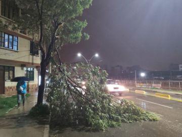 Lluvia con granizo en Sucre fue una de las más intensas desde 1997