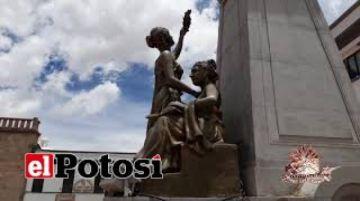 Escultor confirma que ninfas de estatua de Alonso son de fibra de vidrio