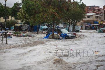 Tormenta de granizo en Sucre deja cuatro fallecidos, una de ellas era agricultora de Betanzos