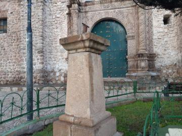Admiten que los bustos de la plaza San Bernardo fueron robados