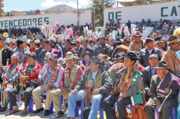 Suspenden posesión masiva de autoridades originarias en Potosí