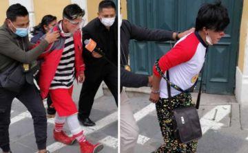Aprehenden a dos payasos acusados de corrupción de menores