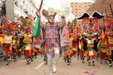 Debido a la pandemia, se suspende  el Carnaval de Oruro 2021