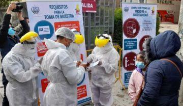 La Paz: Habilitan el Coliseo Cerrado como centro de testeo COVID para peatones