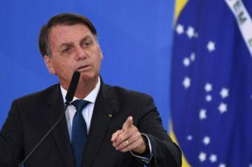 Bolsonaro evita criticar desmanes en EEUU y reitera proximidad con Trump