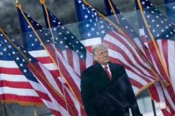 """Trump condena caos en el Capitolio y promete una transición """"tranquila"""""""