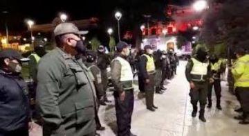 Policía en Potosí anuncia que implementará controles para evitar la circulación a partir de las 23:00