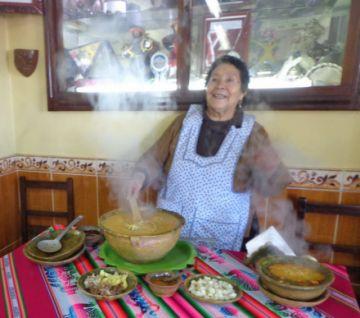 Se fue Doña Eugenia, la mujer que popularizó el plato de la kalapurka