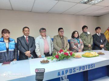 Posesionan al nuevo gerente institucionalizado de Aapos