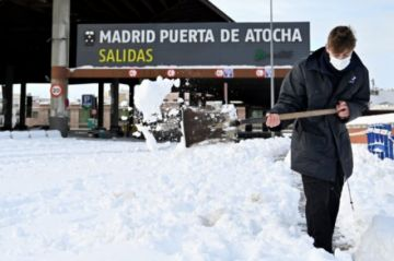 Tras la tormenta de nieve, España se prepara para una ola de frío inédita