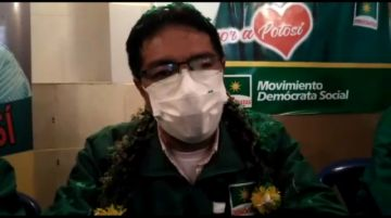 Demócratas presentan candidatos a la Alcaldía y Gobernación de Potosí