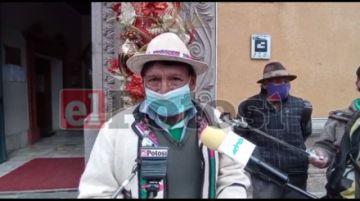 Comunarios de Tecoya se quedaron sin producción por el granizo