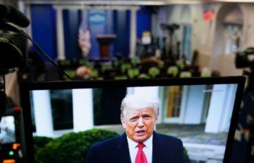 Trump ante nuevo juicio político; Washington bajo estrictas medidas de seguridad