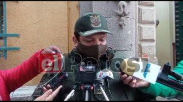 Reportan choque de dos motorizados en la carretera Potosí Porco