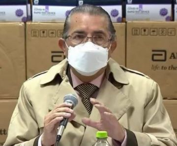 El ministro de Salud de Bolivia dio positivo a coronavirus