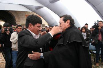 Luis Oporto es el nuevo presidente de la Fundación Cultural del Banco Central de Bolivia