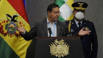 """Luis Arce: """"Aguantar no significa encerrar a los bolivianos; significa resistir con una estrategia"""""""
