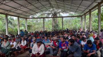 Organizaciones del Trópico cochabambino se congregan sin usar medidas de bioseguridad