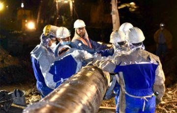 YPFB reinicia operaciones del Gasoducto Carrasco-Cochabamba en la zona del Sillar