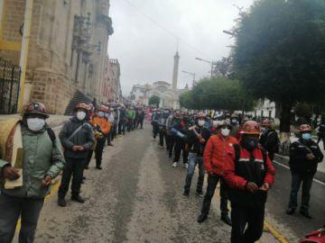 Mineros de Andacaba anuncian viaje a La Paz por sus salarios