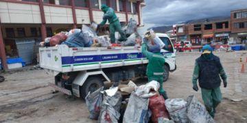 Por los bloqueos del transporte, EMAP recogerá la basura desde las 18:00