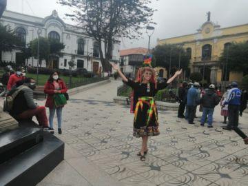 Miss Bolivia Universo destaca potencial turístico de Potosí