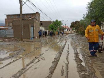 Las lluvias torrenciales causan inundaciones en varias regiones del país