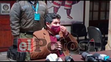 Gobernador de Potosí descarta aplicar cuarentena rígida pese a incremento de casos covid