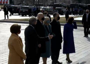 Se desarrolla el acto de posesión Joe Biden y kamala Harris en Estados Unidos