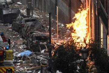Cuatro muertos es el saldo de la explosión del gasoducto de un edificio en Madrid
