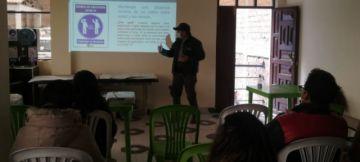 EMAP inició ciclo de charlas preventivas