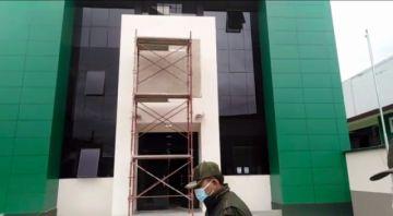 El martes se entregaría nuevo edificio a la Policía Departamental