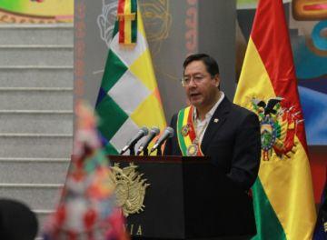 Luis Arce: El 10 de noviembre se interrumpieron 37 años de democracia continua