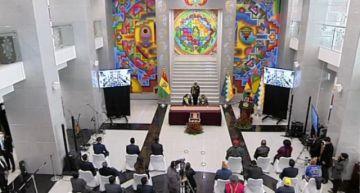 En Directo: El acto de conmemoración del 12º aniversario del Estado Plurinacional de Bolivia