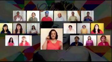 Vea un encuentro de coros virtual con la participación del coro de la UATF de Potosí