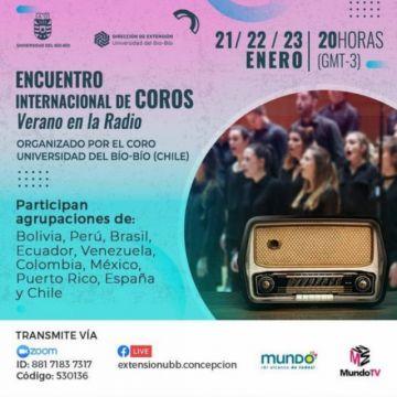 Coro de la UATF participa esta noche en festival internacional virtual