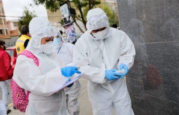 Gobierno dice que en caso de 'criticidad extrema' de contagios se advertiría al TSE