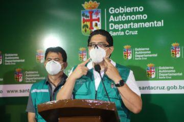 Sedes Santa Cruz reporta 544 nuevos contagios y 14 decesos