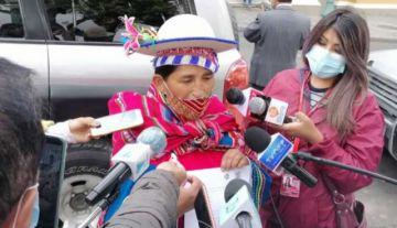 Patty afirma que en El Alto el MAS está 'pagando la factura' por error en candidatura