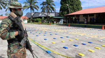 Vea imágenes de un tiroteo entre fuerzas antidroga y supuestos narcotraficantes