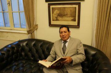 Luis Oporto busca acciones en favor del patrimonio