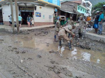 Registran 15.593 familias afectadas y damnificadas por las lluvias en Bolivia