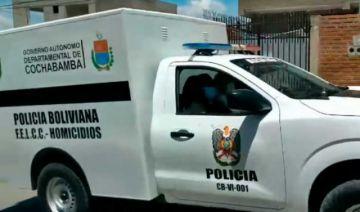 Policía registra un feminicidio seguido de suicidio en Cochabamba
