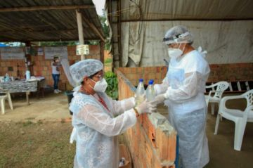 """La OPS califica la situación de Brasil con la pandemia como """"preocupante"""""""