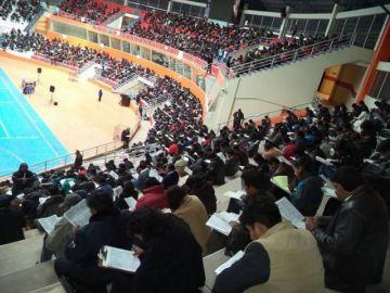 Hoy inicia fase de examen escrito a postulantes a cargos educativos en Potosí