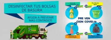EMAP intensifica trabajo de recojo de residuos ante la emergencia sanitaria