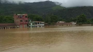 Reportan que hay 9.399 familias afectadas por las lluvias y 6.194 damnificados en el país