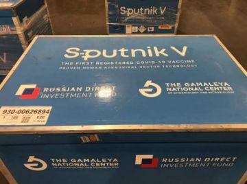 El primer lote de vacunas Sputnik V contra el Covid-19 llega hoy a Bolivia
