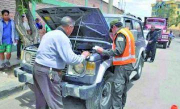 Mañana concluye plazo para la inspección técnica vehicular